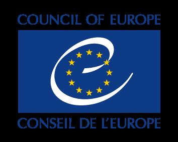 Dekorative Grafik: Logo des Europarats