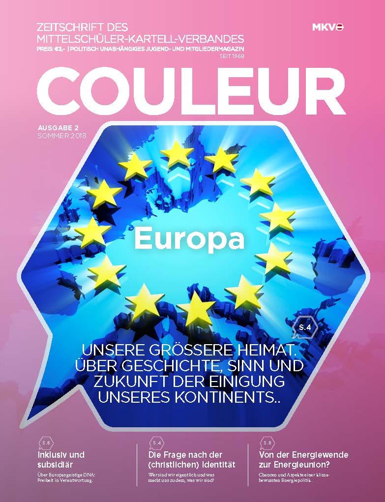 Couleur 2/18 – Europa – unsere größere Heimat