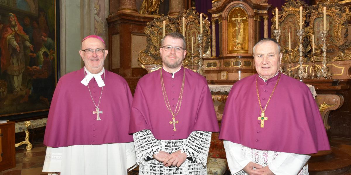 MKV gratuliert Kbr. MMag. H. Petrus Stockinger zu seiner Wahl zum Propst des Stiftes Herzogenburg