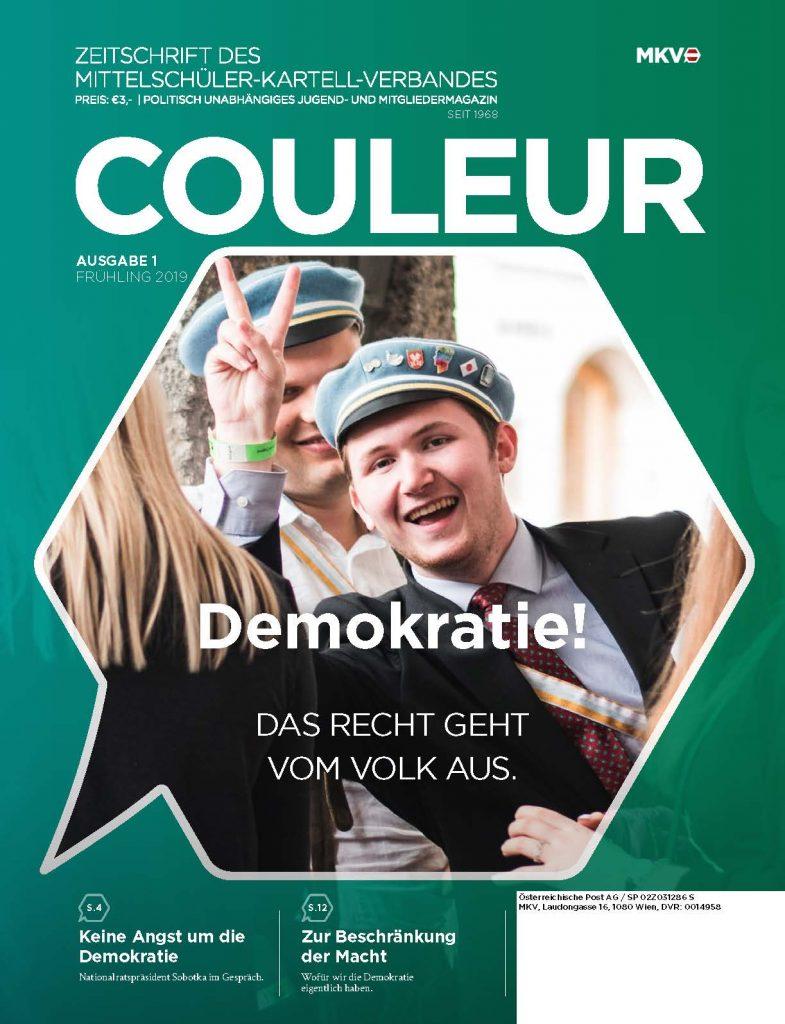 Couleur 1/19 – Demokratie! Das Recht geht vom Volk aus.