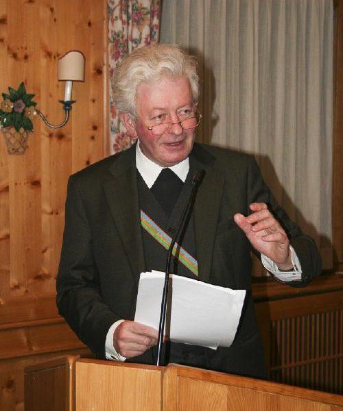 MKV trauert um Altkartellseelsorger o.Univ.-Prof. Dr. Hans Paarhammer v. Virgil