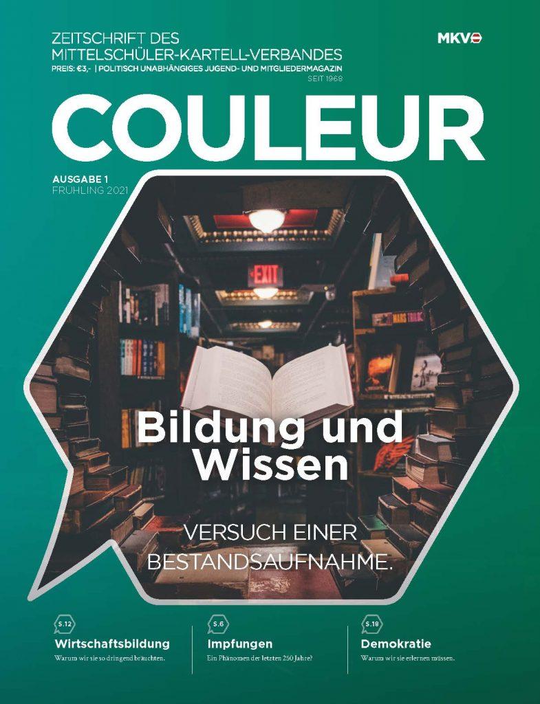 Couleur 1/21 – Bildung und Wissen – Versuch einer Bestandsaufnahme